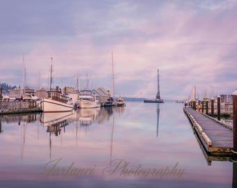 Early Morning at the Harbor