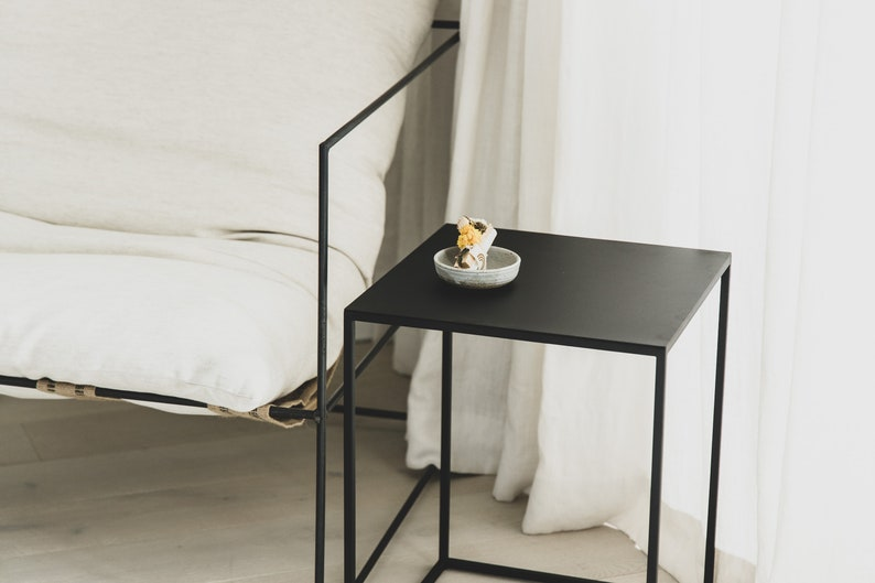 Side Table Black Coffee Table Side Table Modern Cube Table Bed Side Table Bedside Tables Nightstand Night Stand Black End Table Pcd2