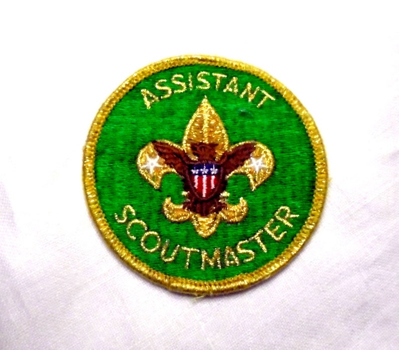 Boy Scouts of America Vintage Assistant Scout Master