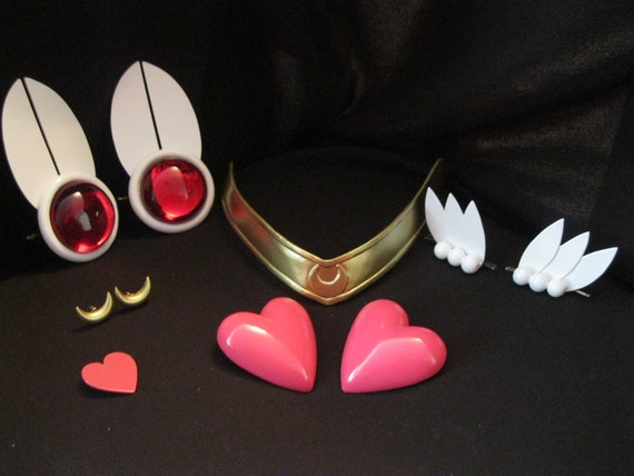 Super Sailor Chibi Moon Cosplay Accessory Kit Etsy