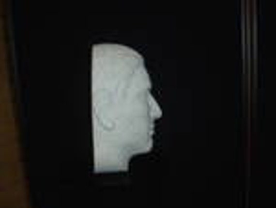 """#6264X 16/""""H Stylized MALE Mannequin HEAD Forms-by POLLY PRODUCTS COMPANY TWO 2"""