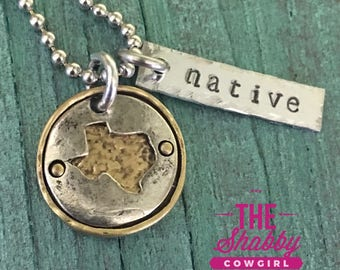 Native Texan - necklace