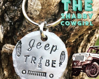 Jeep Tribe - keychain