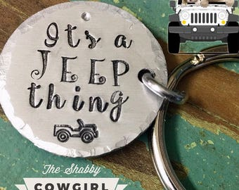 Its A Jeep Thing - keychain