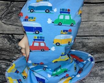 Slip hat car by Apricot wish size children's hat fleece hat reversible hat