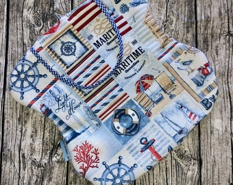 Staple bag Clothespin bag maritime