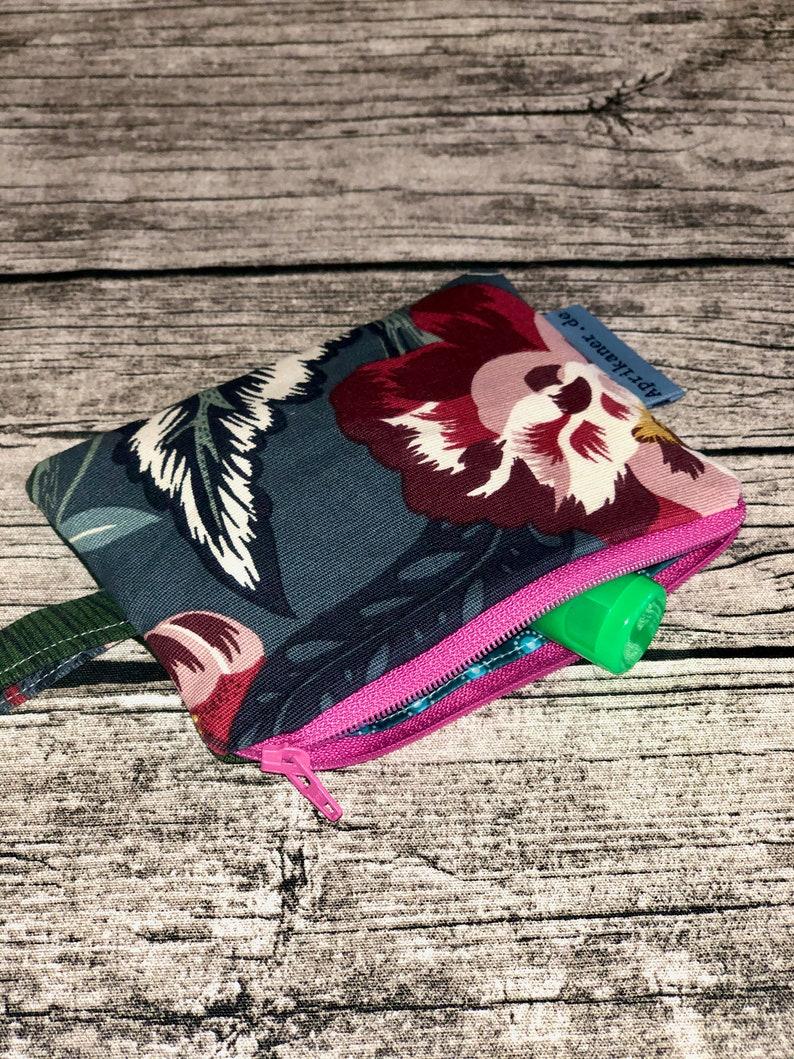 Zipper bag flower image 0