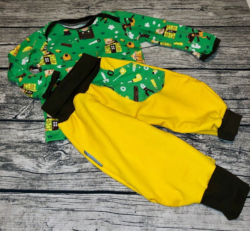 Baby Pants and Shirt in Set Combi Small Pigsize Size 74/80 image 0