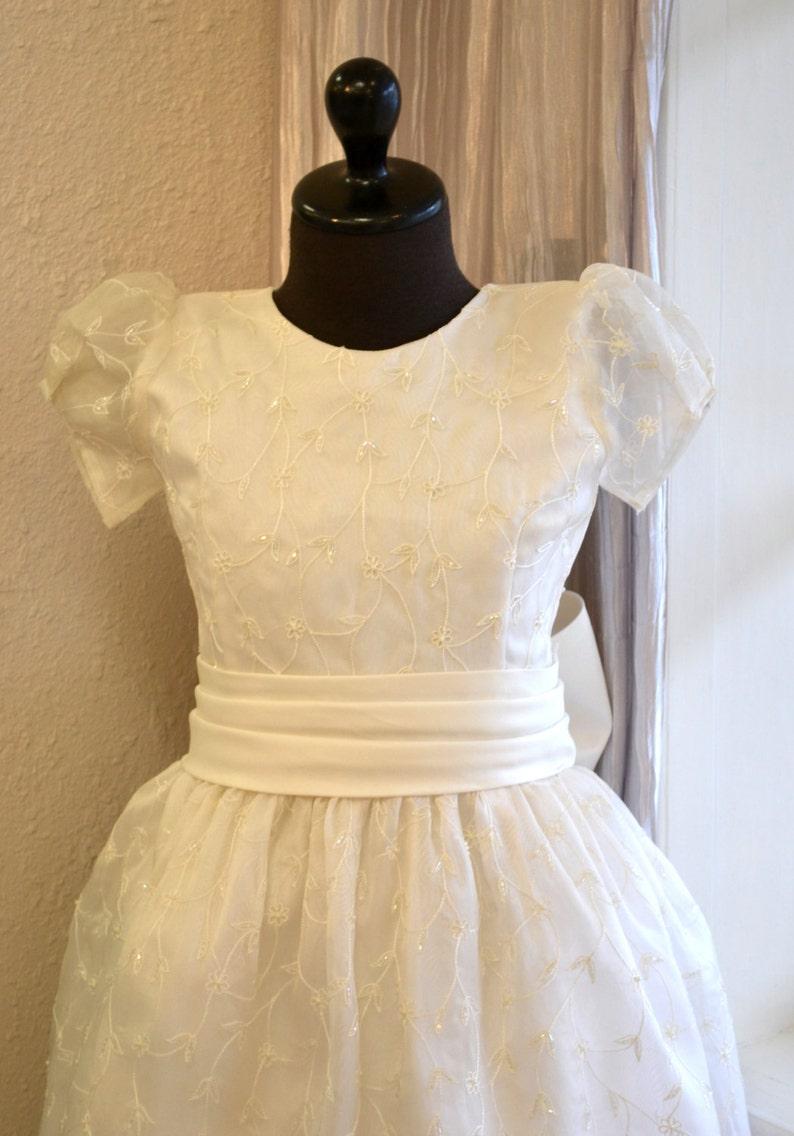 efc4d5c02299 Cotillion Dress First Communion Dress Holy First Communion