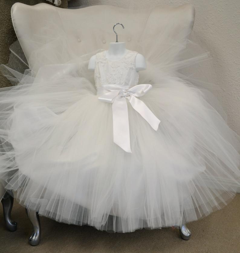 d0ca4402f81 Flower Girl Dress First Communion Dress Birthday Dress