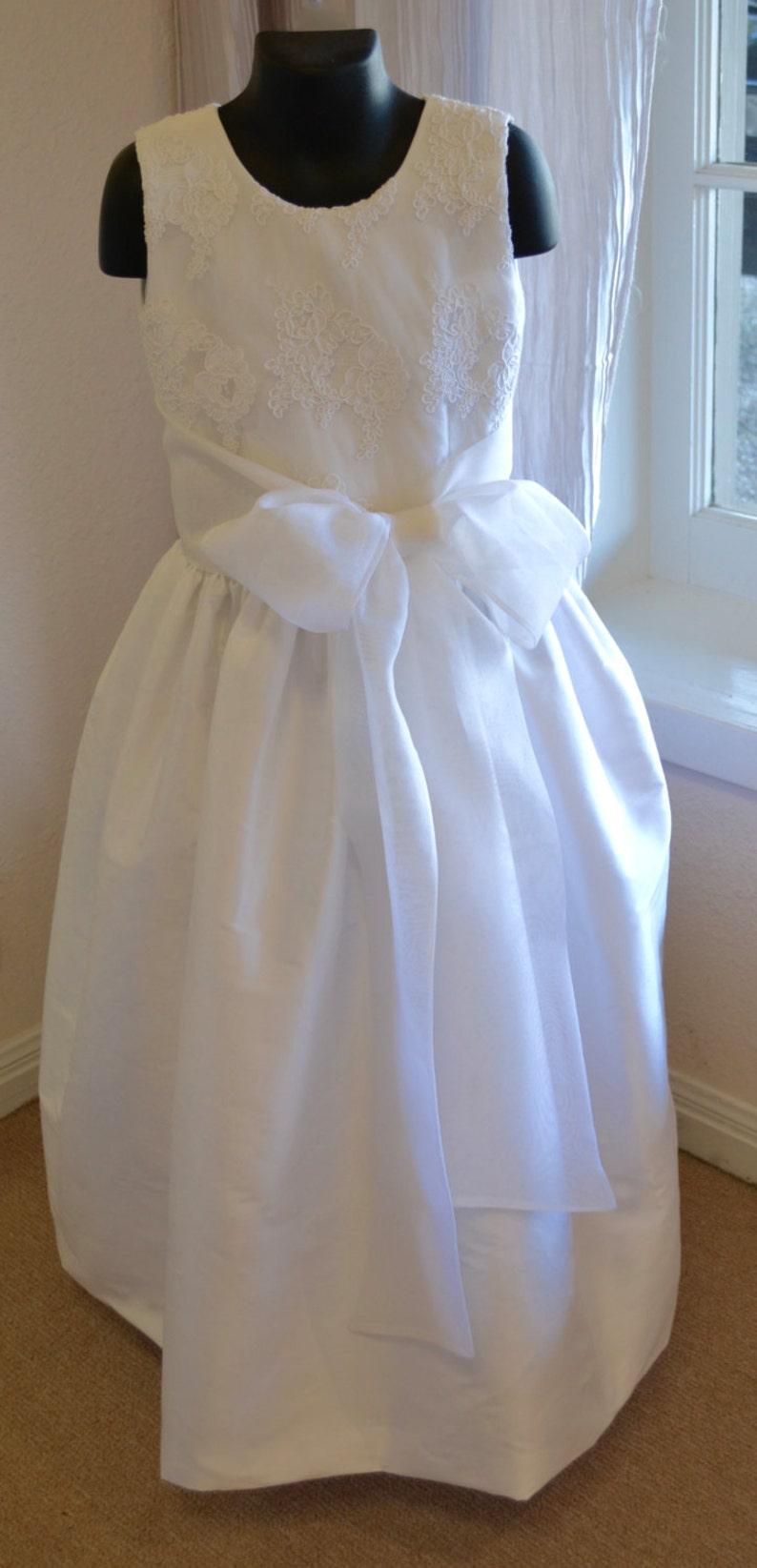 1451150da Vestido vestido de cotillón primera comunión Santo vestido