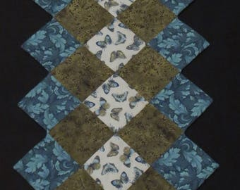 Butterfly Quilted Table Runner
