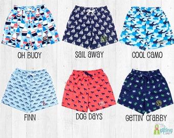 eccf6f61bb Monogrammed Boy's Swimsuit, Swim Trunks, Personalized Swimsuit, Kids  Swimsuit, Toddler Swimsuit, Boy's Bathing Suit, Swim Shorts