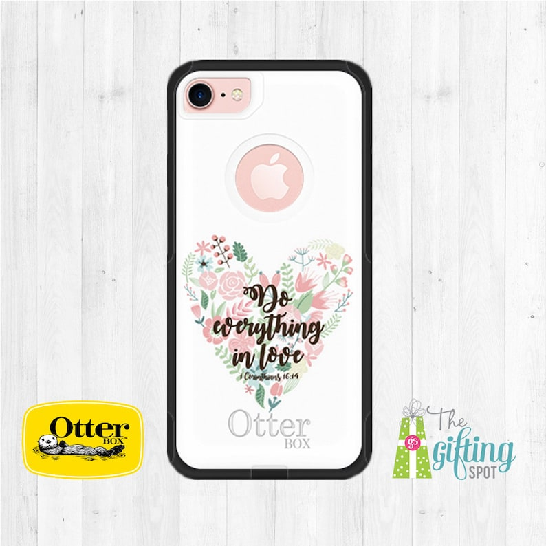 best sneakers 0d02b 4b7a8 Monogrammed OtterBox, OtterBox Commuter, Personalized Phone Case, iPhone  Case, Samsung Case, Custom Printed Phone Case, Biblical Scripture