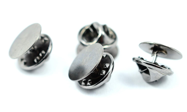 40 pièces bronze 12 mm Pad (15/32 po) épingle à à épingle cravate blancs résultats, embrayage broche dc4cc9