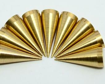 20 Pieces Raw Brass 7x20 mm Spike