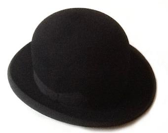 Bowler Hat Vintage 1900-1930s Bowler Hat Men Bowler Hat Women a1f56b987c13