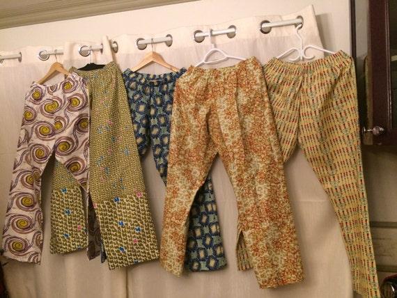 Pantalon Pagne en Pagne Pantalon africain imprimés qualité Woodin 83a2f2