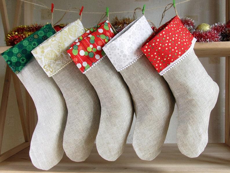 08f6be1e4 5 Family Christmas Stockings Personalized Christmas
