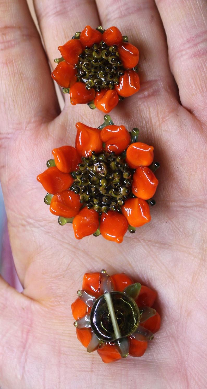 MTO Pumpkin orange sunflower set