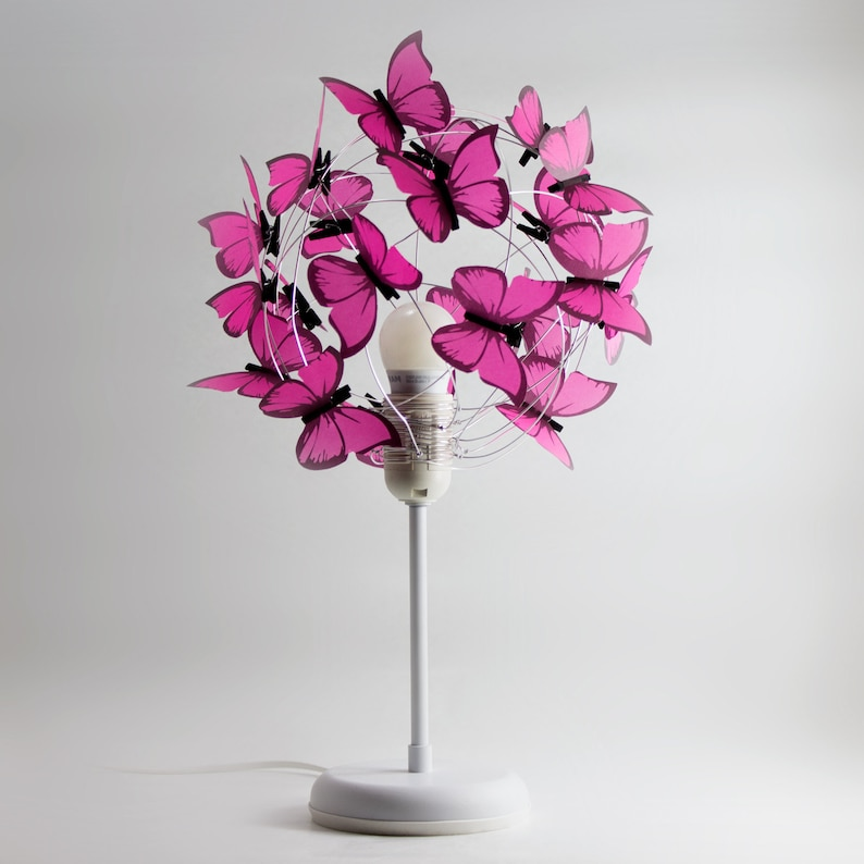 Lumière Rose Lampe Fantaisiste La Chevet Bébé De LumièreDécor D'enfants Pépinière Decor Fée Avec FilleCadeau Papillons N8nmwv0