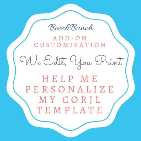 Add-On Personalize My Invitation