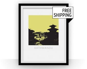 Kathmandu Art Poster