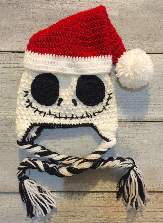 Jack Skellington inspired Nightmare Before Christmas Santa | Etsy