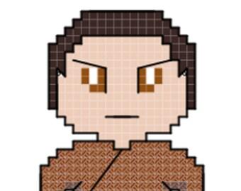 T'Pol Character Cross Stitch Pattern