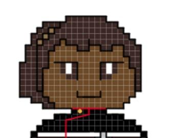 Mariner Character Cross Stitch Pattern