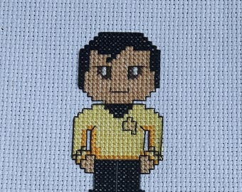 Sulu Cross Stitch Pattern **DIGITAL**