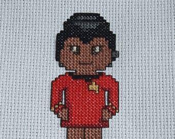 Uhura Cross Stitch Pattern **DIGITAL**