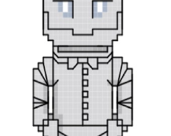 Tin Man - Wizard of Oz Cross Stitch Pattern **DIGITAL**