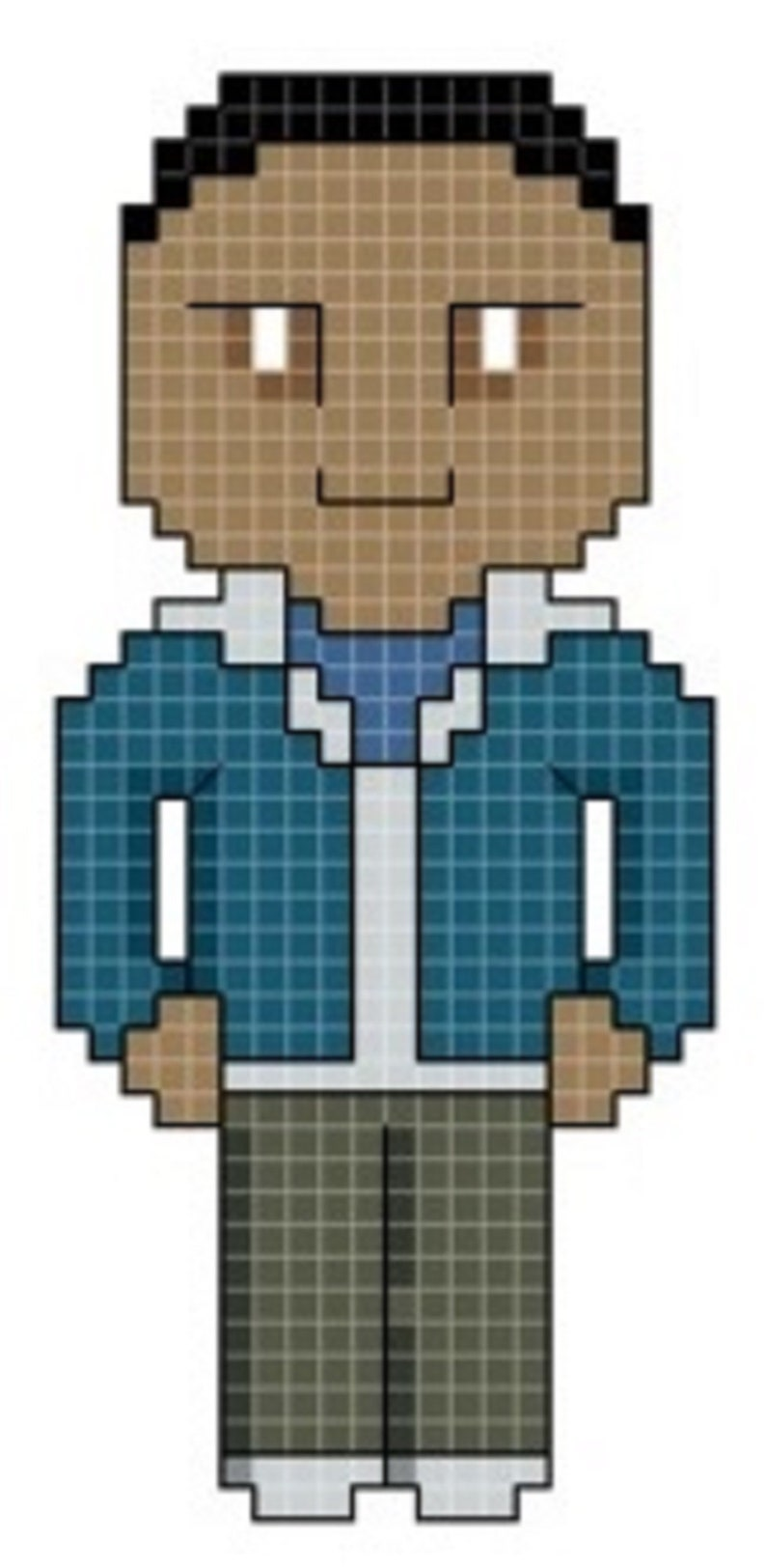 Doctor's Companion  Ryan Cross Stitch Pattern only image 0