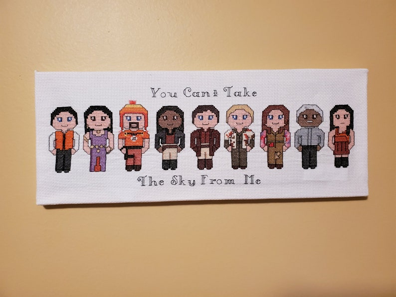 Firefly Cross Stitch Canvases  FINISHED CANVAS-STYLE Group