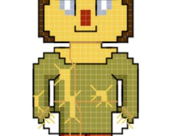 Scarecrow - Wizard of Oz Cross Stitch Pattern **DIGITAL**