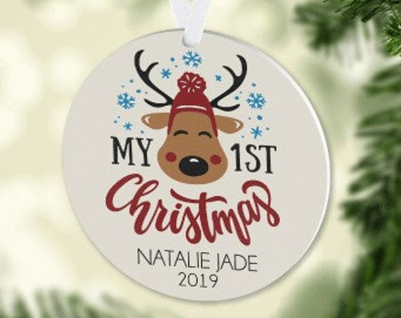 Baby's First Christmas Ornament 2019