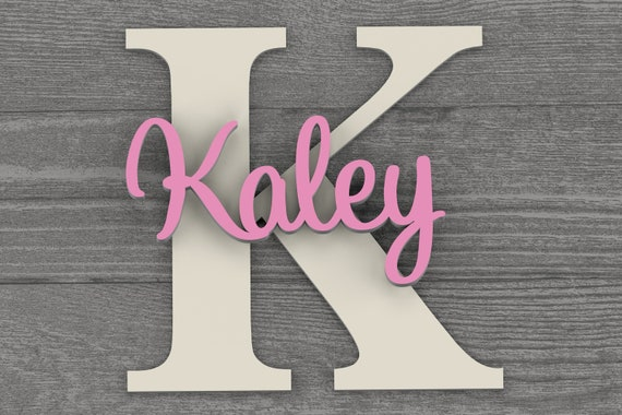 3D Name Sign for Kids and Baby Wall Decor. Baby Shower Gift Idea