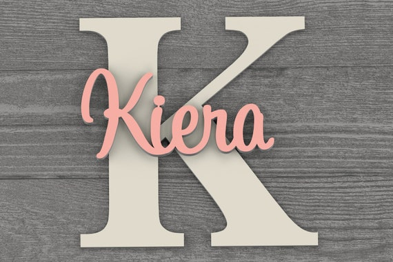 Large - Nursery Wall Art, Name Sign, Nursery Decor, Home Decor,  Baby Gift, Name Sign, Nursery Letters, Wall Decor, Wall Letters, Baby