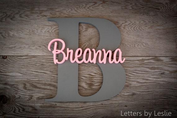 Nursery Name Sign, Nursery Name, Nursery Decor, Nursery Letters, Custom Signs, Wood Sign, Wall Art, Custom Wood Sign, Baby Name Sign, Decor