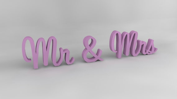 Mr and Mrs wedding sign, Wedding Decor, Wedding Table Decor, Wooden Sign, Wooden Letters, Bridal Shower, Wood Sign, Mr and Mrs, Mrs and Mr