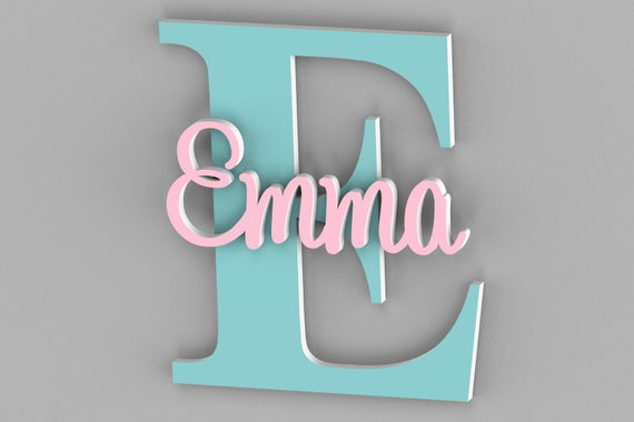 Personalized Name Sign For Kids and Babies, Door Sign, Name Sign for Kids Room, Wall Decor, Wall Art