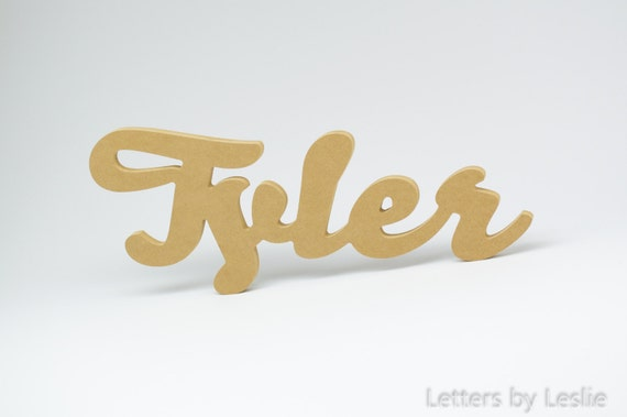 DIY Unpainted Children's Wood Wall Name Signs. Nursery Decor, Nursery Letters, Wood Letters, Wood Sign, Nursery Wall Decor, Baby Name Sign