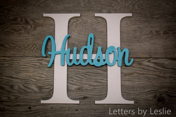 Large - Nursery Name Sign, Nursery Decor, Home Decor, Wall Art, Nursery Wall Art, Wooden Name, Nursery Name Sign, Baby Shower Gift, Decor