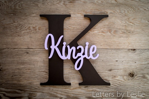 Large - Nursery Decor, Nursery Name Sign, Nursery Wall Art, Baby Shower Gift, Baby Gift, Wood Letters, Wood Sign, Wall Art, Personalized