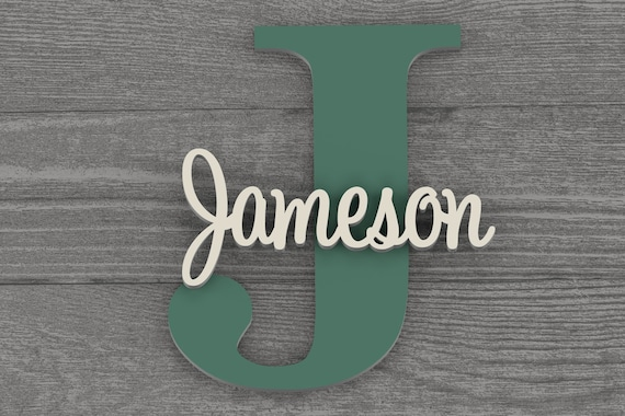 Nursery Name Sign, Nursery Decor, Nursery Letters, Nursery Wall Art, Baby Name Sign, Nursery Wall Decor, Woodland Nursery, Baby Room Decor,