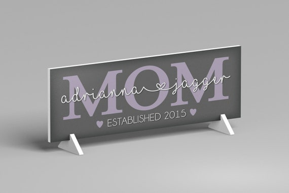 Personalized Mother's Day Gift From Kids, Mother's Day Decor, Gift Idea for Mom