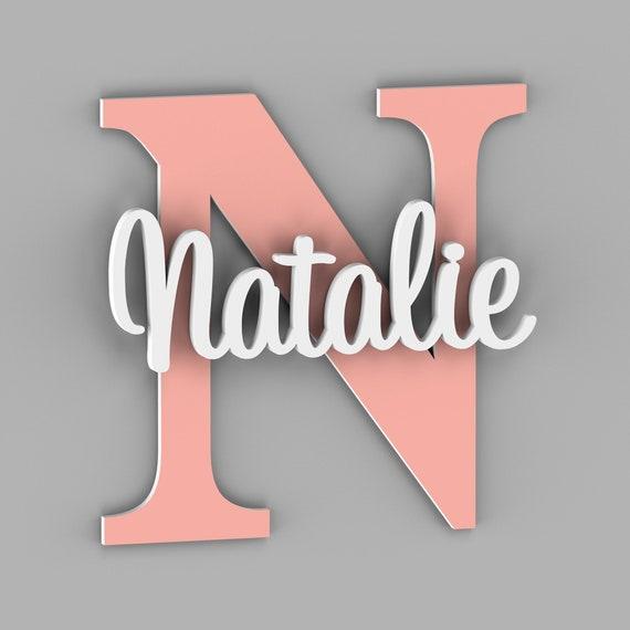 Nursery Name Sign, Nursery Decor, Nursery Letters,  Wall Art, Wall Decor, Bedroom Wall Decor, Kids Room Decor, Letters, Home Decor