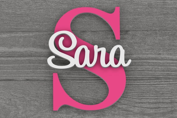 Large Baby Name Sign, Nursery Name Sign, Personalized Name Sign, Nursery Art, Nursery Wall Decor, Nursery Wall Art, Nursery Decor, Baby Gift
