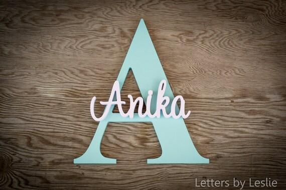 Nursery Wall Decor, Wooden Name, Baby Girl Nursery, Baby Boy Nursery, Nursery Decor, Nursery Letters, Wall Art, Custom Sign, Custom Letters
